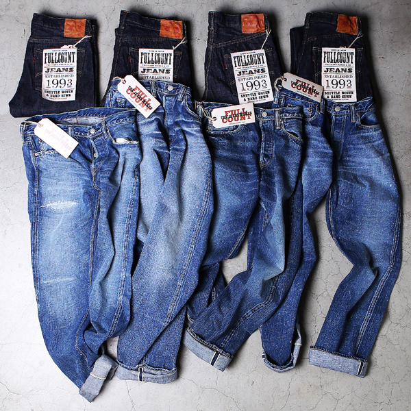 Fullcount Washed Denim Collection