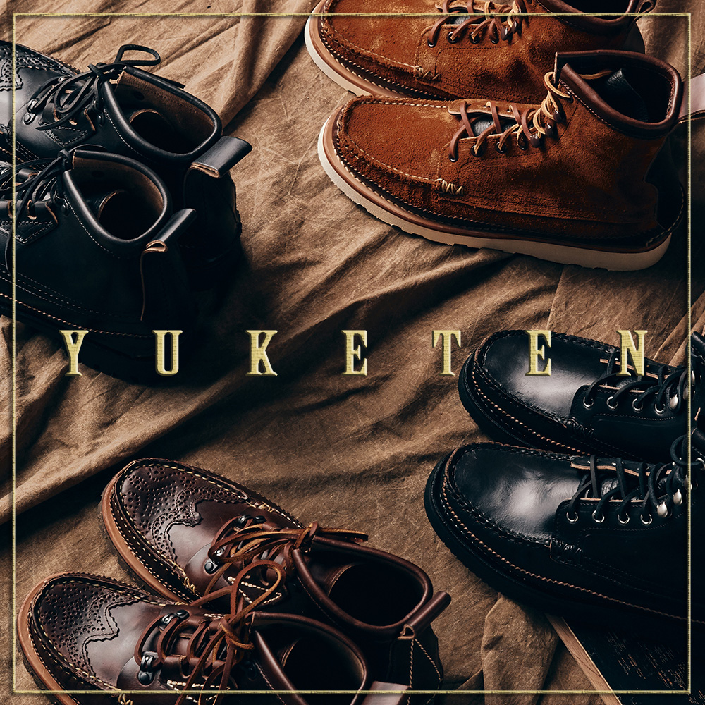 [NEW ARRIVALS] YUKETEN MAINE GUIDE BOOTS