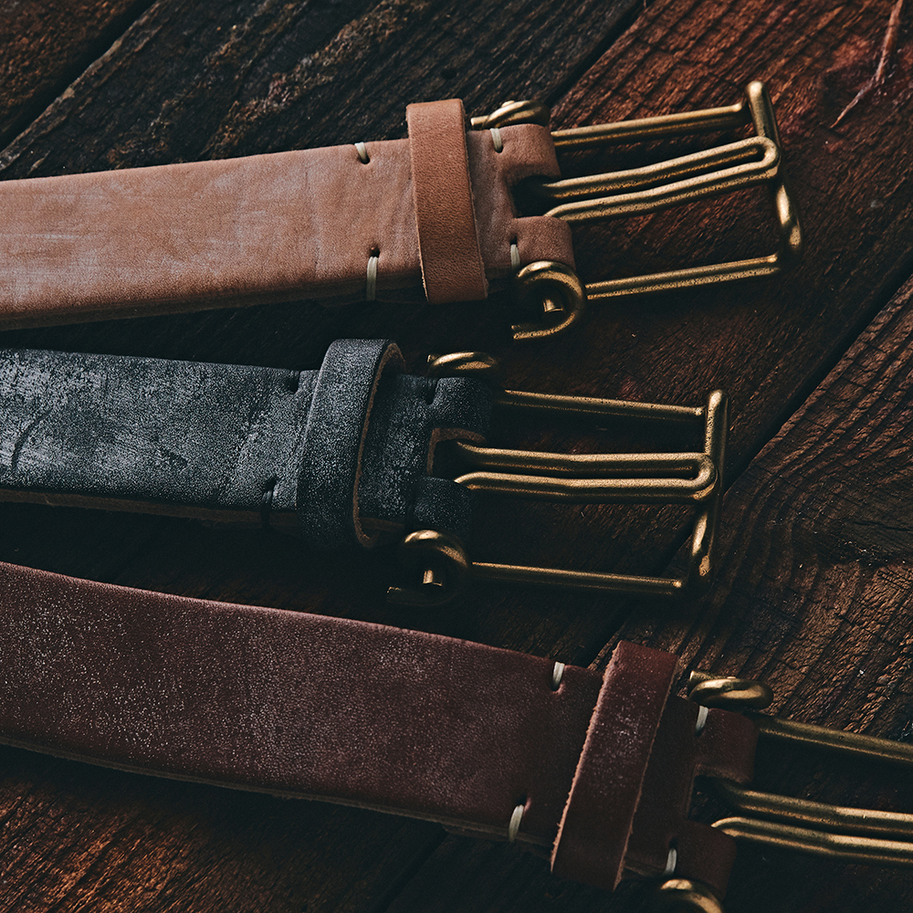 [NEW ARRIVALS] TENDER & CO BELT AND KEYRING