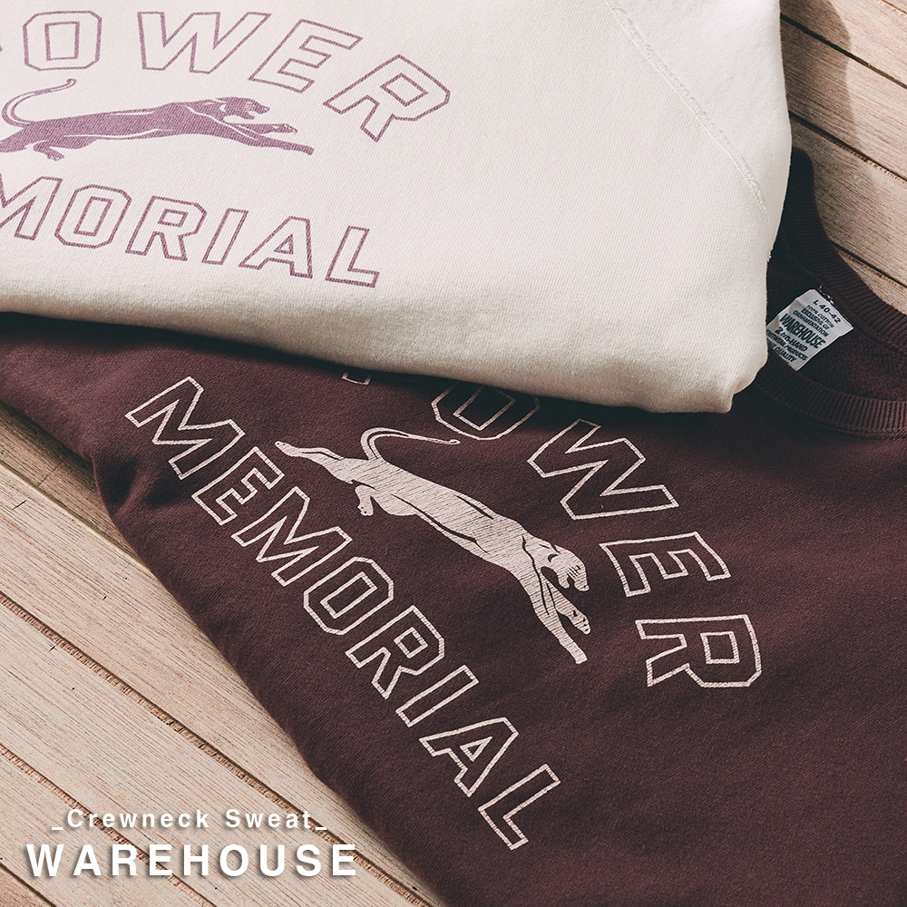 [NEW ARRIVALS] WAREHOUSE CREWNECK SWEAT