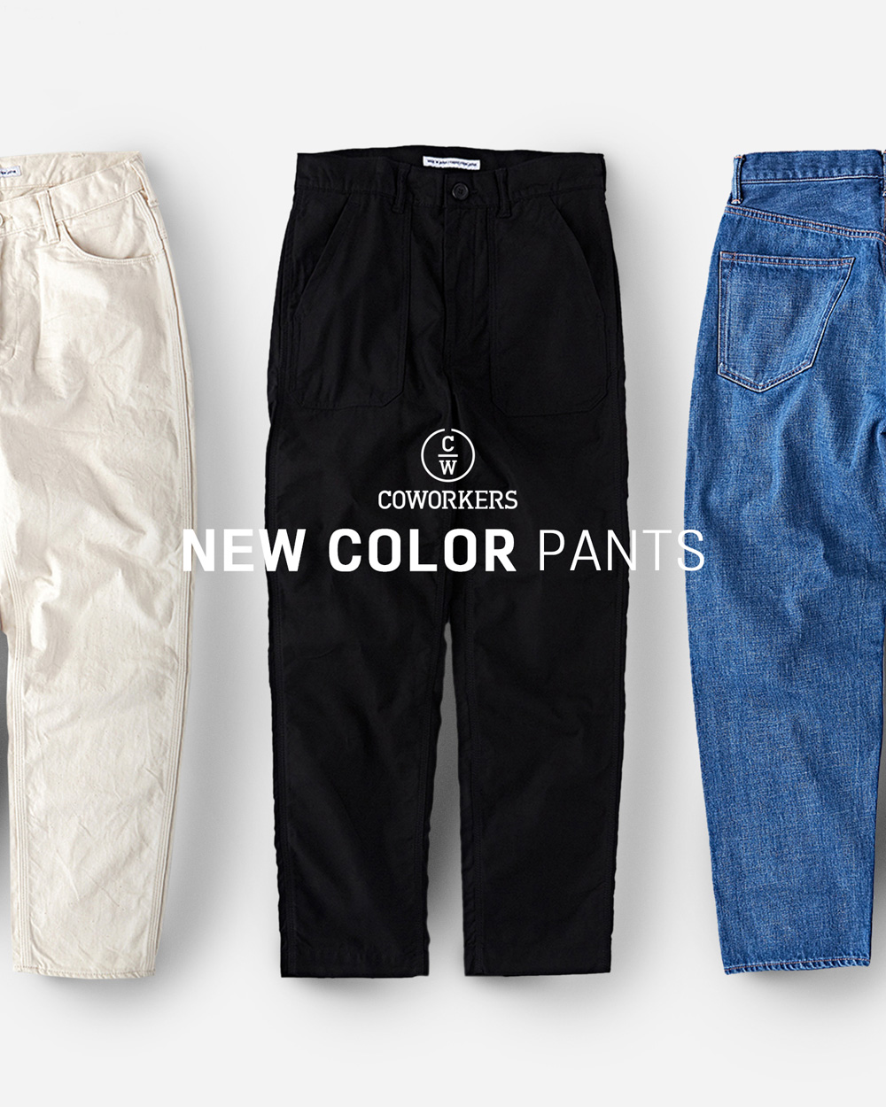 [NEW ARRIVALS] 20S/S COWORKERS BLACK BAKER PANTS