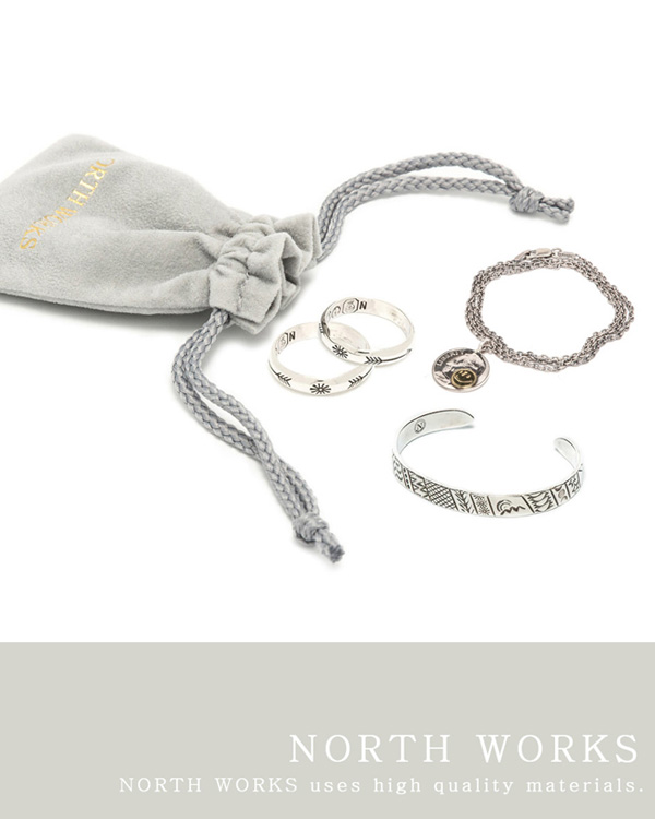 [RESTOCK] NORTH WORKS SILVER ITEMS