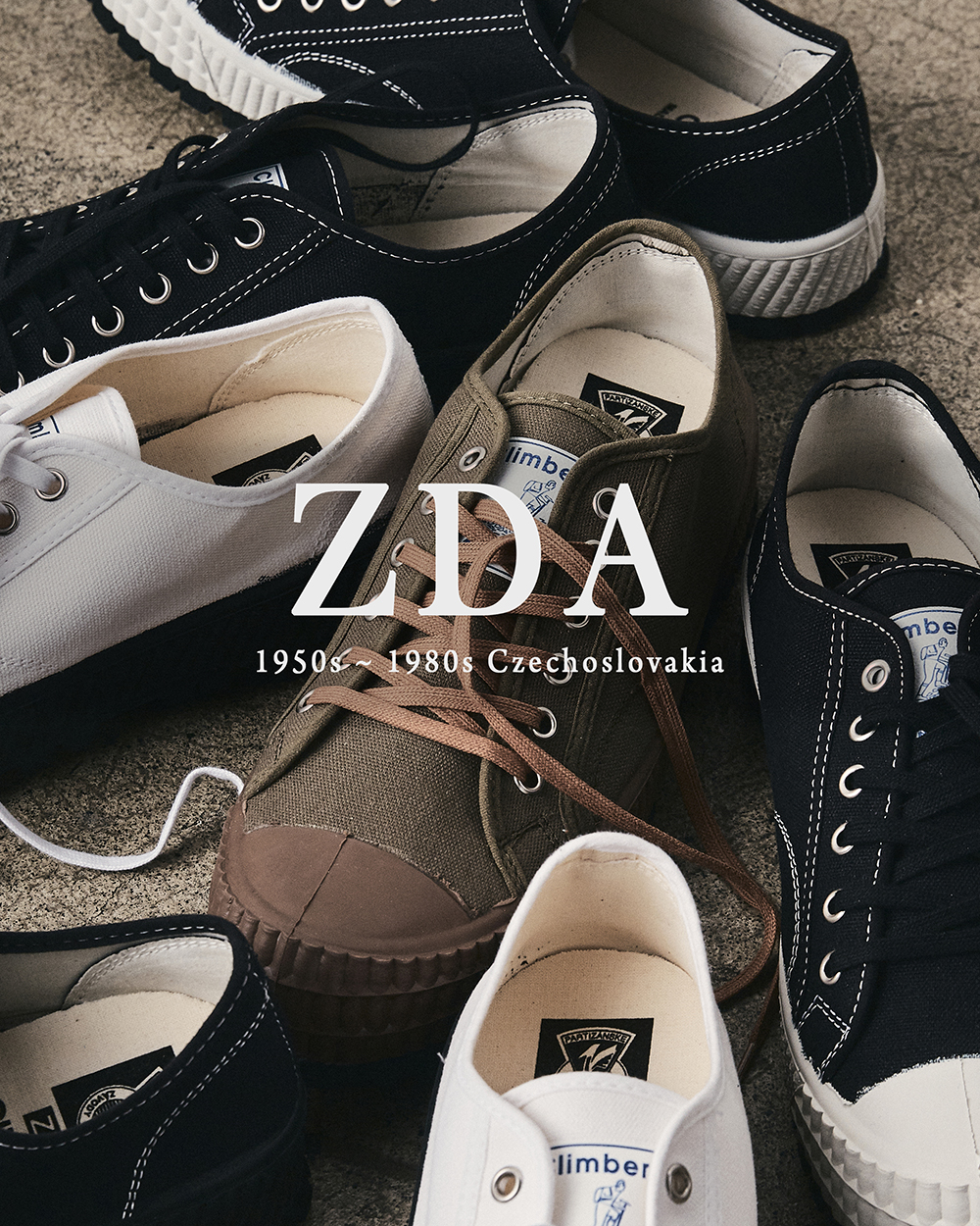 [NEW ARRIVALS] ZDA 2100F SNEAKERS